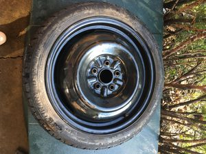 Temporary tire size t125/70/16 for Sale in Bloomingdale, IL