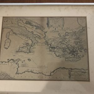 Antique Map (1705) for Sale in Middletown, CT