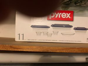 Pyrex brand new 11 pieces set for Sale in Bellwood, IL