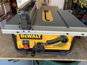 DEWALT 15 Amp 10 in. Compact Job Site Table Saw - comes as pictured - NEW for Sale in Spring, TX
