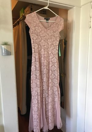 Pink dress for prom or bridesmaids (never been worn) for Sale in San Diego, CA