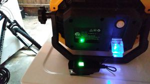 New was 65 dollars Hyper Tough 5000 lumens rechargeable and charge phone from light itself for Sale in Deer Park, TX