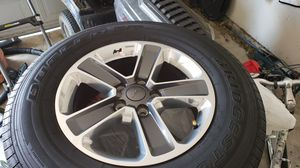 Jeep Wrangler Sahara Factory Wheels/Tires for Sale in Haslet, TX