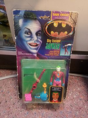 "1989 Vintage Kenner The Dark Knight Collection ""Sky Escape"" Joker 5"" Action Figure for Sale in Leander, TX"