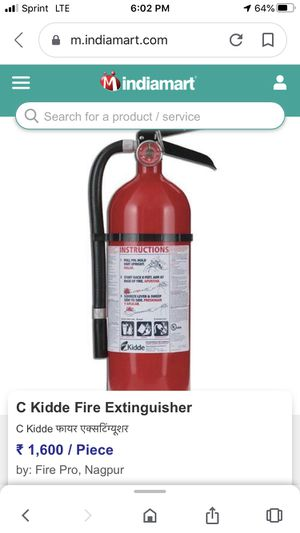 Both Fire Extinguisher for Sale in Los Angeles, CA