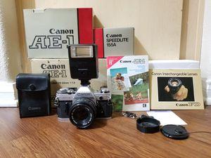 Canon AE-1 film camera for Sale in Menifee, CA