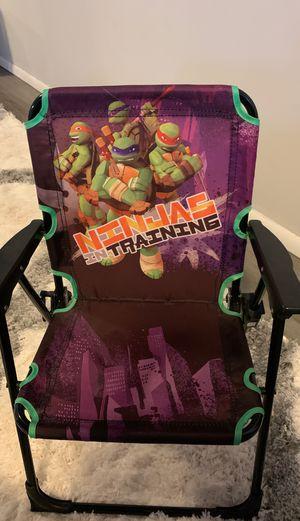 Ninja turtles kid chair for Sale in Hamburg, NY