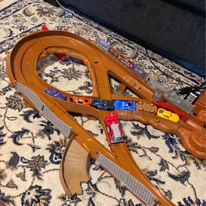 Disney cars Race Track And Cars for Sale in Portland, OR