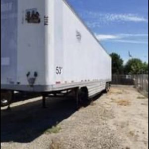 53 Dry Van Trailer for Sale in Fresno, CA