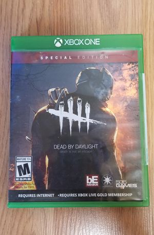 DEAD BY DAYLIGHT- XBOX ONE, GOOD CONDITION, TRADE FOR SEKIRO SHADOW DIE TWICE ONLY for Sale in Garden Grove, CA