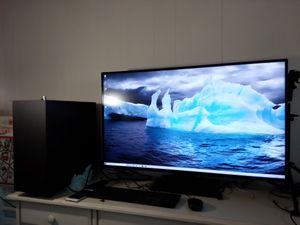 """LG 43UD79-B 42.5"""" 4K 3840 x 2160UHD LED USB Type C, HDMI IPS Monitor - Will test at home. for Sale in Oceanside, CA"""