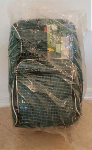 Picnic Essentials 30pc Essential Travel Backpack Plates Green Insulated Cooler for Sale in Land O Lakes, FL