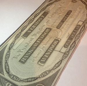 RARE Early 1830's Uncirculated & Unsigned Woodstock Vermont Obsolete Currency Bill- Perfect Choice Brilliant Uncirculated Condition for Sale in Washington, DC