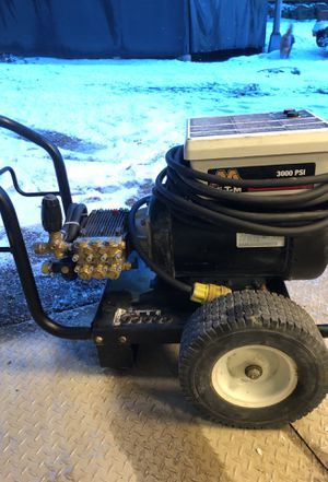 3000 psi for GPM pressure washer electric 8 hp three-phase motor for Sale in Ronald, WA