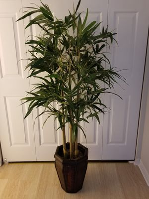 **Fake Bamboo Floor Plant** for Sale in Centreville, VA