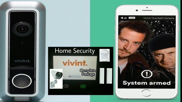 Smarthome Security System with doorbell camera