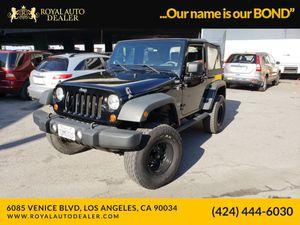 2010 Jeep Wrangler for Sale in LA, CA