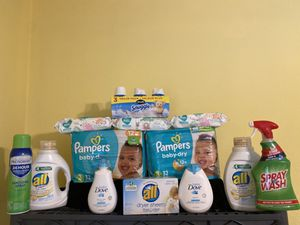 Pampers Laundry Bundle *READ DETAILS* for Sale in Grand Prairie, TX