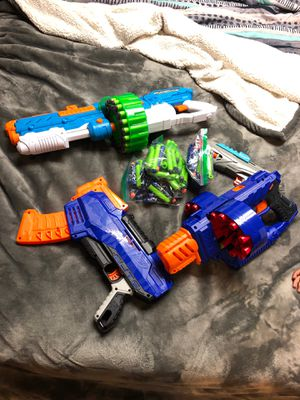 Family set of nerf guns for Sale in Bowie, MD