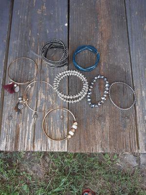 Bracelets different styles for Sale in Hawkins, TX