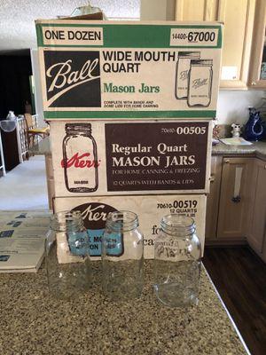 Canning Jars - 3 Dozen for Sale in Auburn, WA