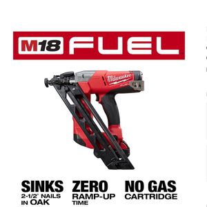 Milwaukee M18 Fuel 15 Gauge Finish Nailer. Model 2743-20. Fits All M18 Batteries. Tool-Only for Sale in Phoenix, AZ