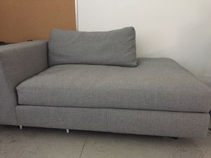 Cb2 Gray Chaise Lounge - OBO for Sale in New York, NY