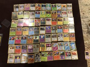 77 pokemon holos from 2012-2020 for Sale in San Diego, CA