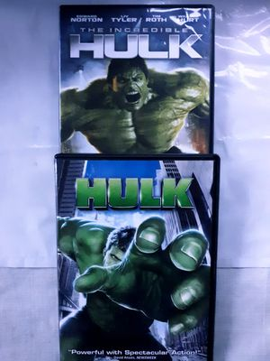 THE HULK LOT (2) DVD Movies for Sale in Tacoma, WA