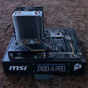 I5-8600k With Asus Tuf Z370 Plus Motherboard And Hyper 212 Evo Cooler for Sale in Orlando, FL