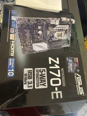 Asus Z170-E , LGA1151 motherboard for Sale in Panama City, FL