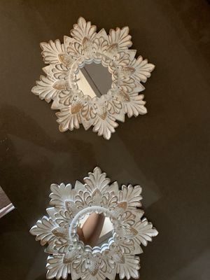 Small decorative wall mirrors for Sale in Ontario, CA