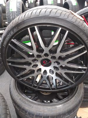 20 inch cavallo wheels and tires for Sale in Spartanburg, SC