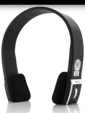 GOgroove AirBAND Wireless Bluetooth Stereo Headphones with Microphone and Onboard Controls - Compact & Adjustable , Sleek Headband Design , & 8 Hour for Sale in Redlands, CA