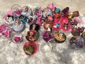 24 Lol dolls pets different series all new for Sale in Gresham, OR