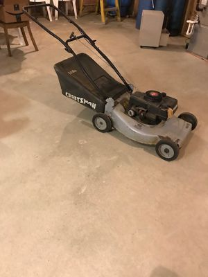 Craftsman Push Lawn Mower for Sale in Wrentham, MA