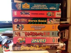 Classic Cartoon VHS for Sale in Maricopa, AZ