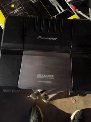 Pioneer Car Amplifer for Sale in Phoenix, AZ