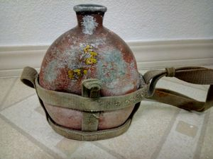 World war 2 Japanese solider water canister for Sale in Alameda, CA