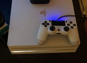 PS4 Pro 1 TB White (Perfect Condition) for Sale in Olive Hill, KY