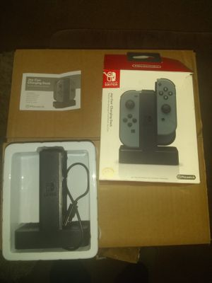 Nintendo switch Joy-Con Charging Dock- PowerA for Sale in Garfield Heights, OH