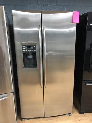 GE stainless steel side by side refrigerator for Sale in Woodbridge, VA