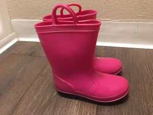 ☔️ rain boots , girls size 11 for Sale in Sacramento, CA