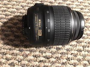 Nikon camera lenses for Sale in Edison, NJ