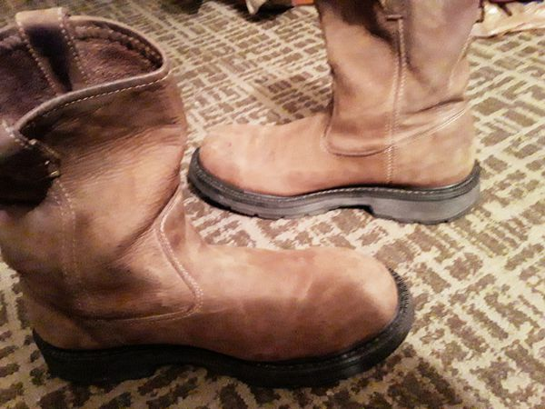 Wolverine brown leather Work boot