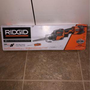 Ridgid 100 orbital reciprocating saw for Sale in Sacramento, CA