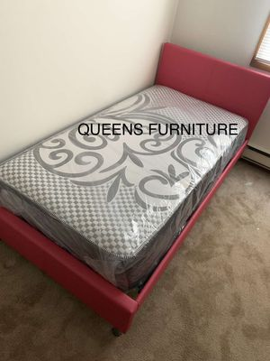TWIN BED AND MATTRESS INCLUDED 60% OFF for Sale in Milwaukee, WI