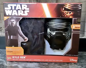 brand new, unopened kylo ren kids costume (Star Wars) for Sale in Daly City, CA