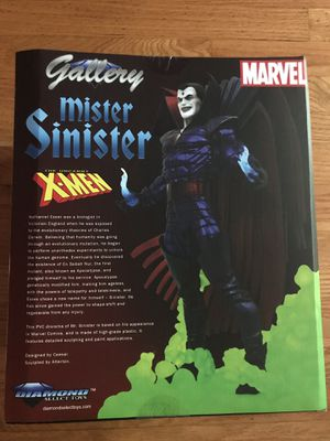 Marvel Gallery X-men Mister Sinister Statue for Sale in Chicago, IL