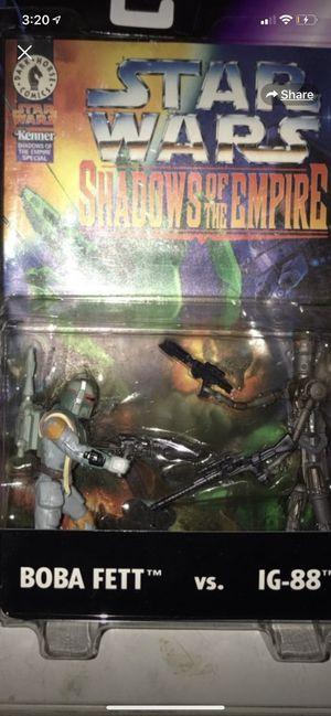 1996 Shadows of the Empire Boba Fett vs IG-88 for Sale in Gilbert, AZ